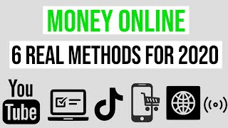 In this video we go over 6 real methods to make money online 2020. i personally use a bunch of these online, and yes you can too. it really ...