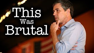 Beto Gets GRILLED for Lack Policy Substance by College Student thumbnail