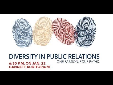 Diversity in Public Relations panel