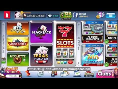 huuuge casino gold ticket hack