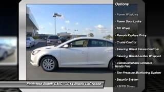 2014 Buick LaCrosse Irvine Orange County BU0851