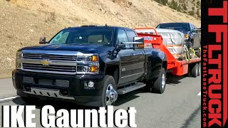 2016 Chevy Silverado 3500 HD Dually Takes on The Extreme Ike Gauntlet Towing Review