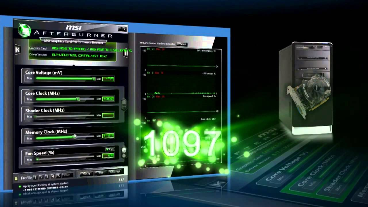 Download Easy Boost with MSI - Сhapter 4 (MSI Afterburner Interactive Tutorial)