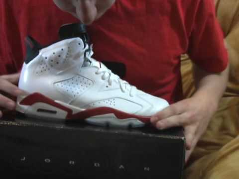 c24d2a55912 Review  Air Jordan 6 - White   Varsity Red - Black - YouTube