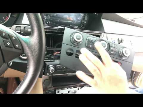 how-to-install-android-system-navigation-in-bmw-5series-e60-(keep-oem-radio)
