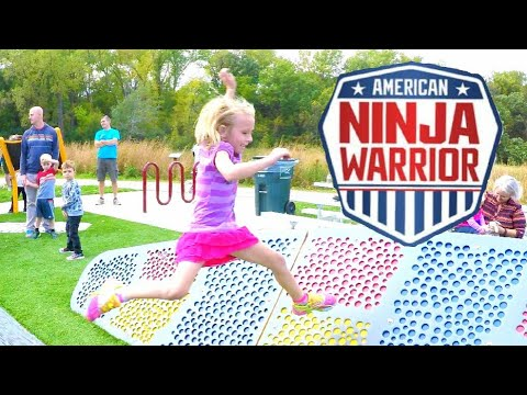 Kid Ninja Warrior Course