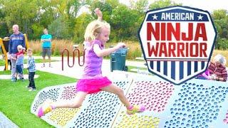 Kid Ninja Warrior Course