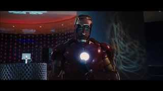 IRON MAN   fight at a party