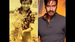 Bollywood Actor Ajay Devgan Childhood, Rare and Unseen Pictures, Photos, Images Dilnawaz Shaik