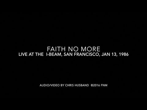 """Faith No More - """"The Jungle"""" Live 1986"""
