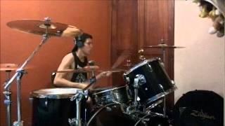 Flo Rida- Low(Travis Barker Remix) Drum Cover