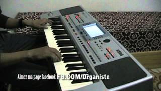 "Gihad Karam 2013 Instrumental Khaliji El Amaken ""Korg Khaliji"" Korg Pa50SD"