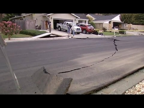 Earthquake hits the United States of America 17-8-2015