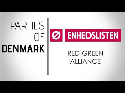 Ø | Enhedslisten – De Rød-Grønne | The Red-Green Alliance | Denmark, General Election 2019