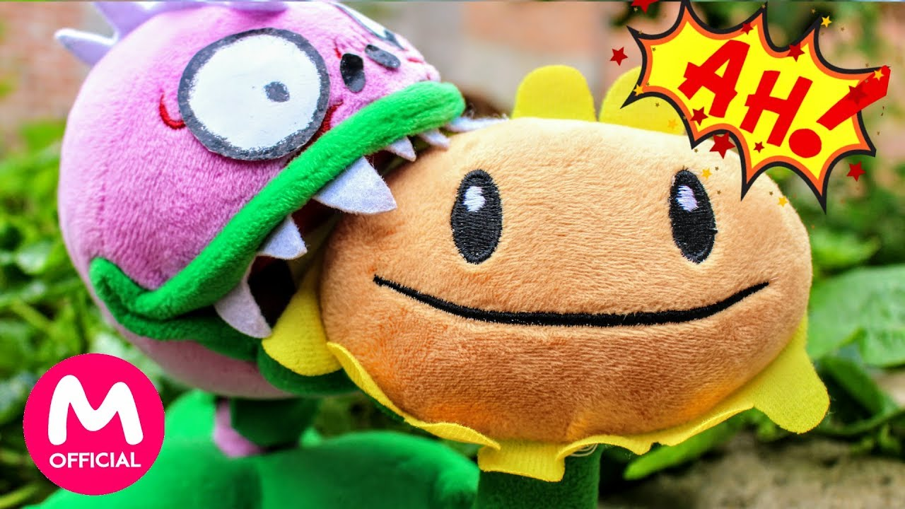 Plants Vs Zombies Plush Toys The Chomper Turned Into A Zombie And Ate Sunflower Moo Toy Story