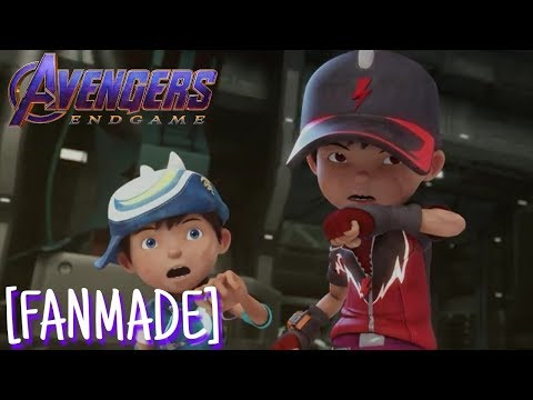 [FANMADE] Boboiboy Movie 2: Endgame | Avengers Endgame Trailer 2 Audio