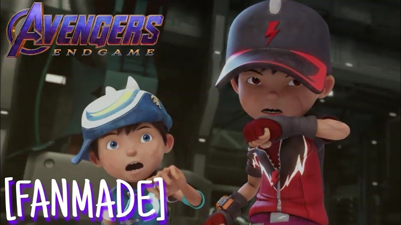 [FANMADE] Boboiboy Movie 2: Endgame | Avengers Endgame Trailer 2 Audio