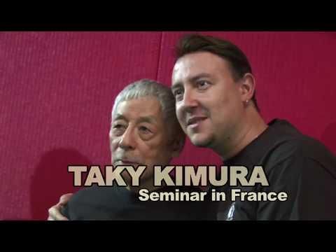 Jun Fan Jeet Kune Do Seminar/Exhibition with Taky Kimura in France 2013