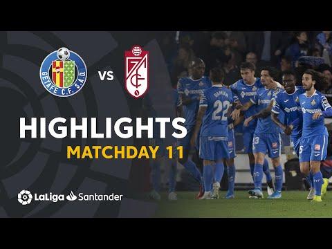Highlights Getafe CF vs Granada CF (3-1)