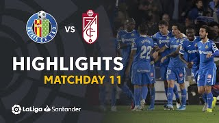 Highlights Getafe CF vs Granada CF (3-1)