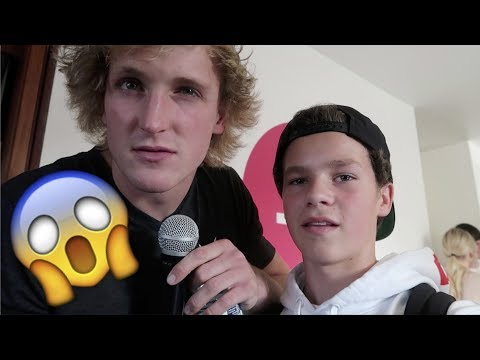 Logan Paul says GET THE &*%$ OUT!!