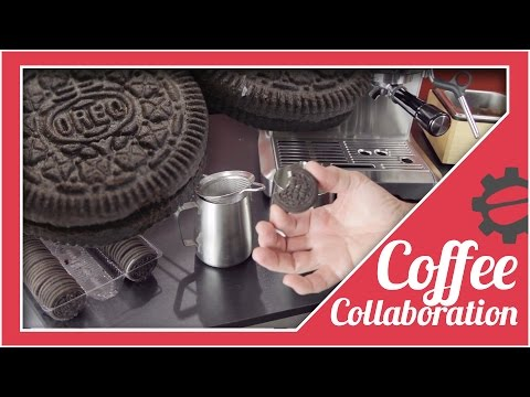 The Best Way To Eat An Oreo (In A Latte) | Coffee Collaboration