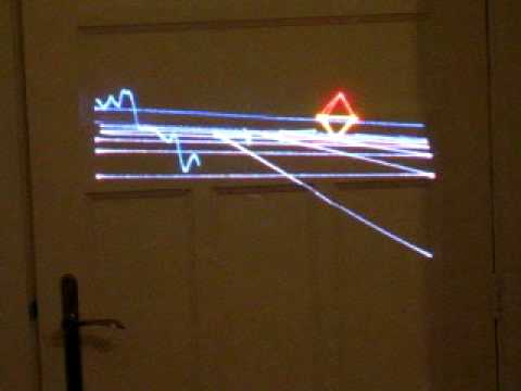 real time 3d laser graphics II