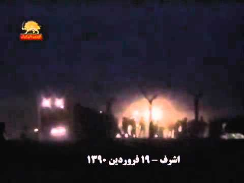 Iraqi Forces Attack Camp Ashraf (PMOI), April 8, 2011, 4 45 AM.flv