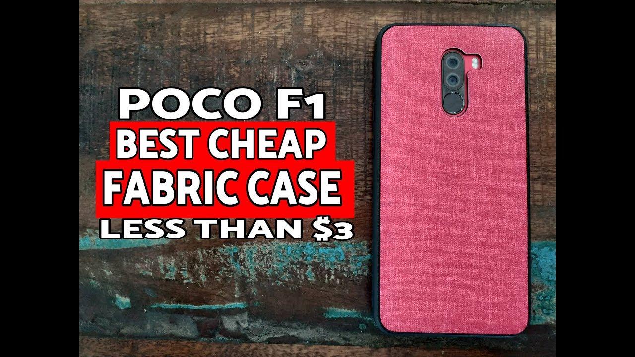 separation shoes 97c1a 6167f Xiaomi Poco F1 Best Cheap Fabric Case; Pocophone F1 Fabric Case
