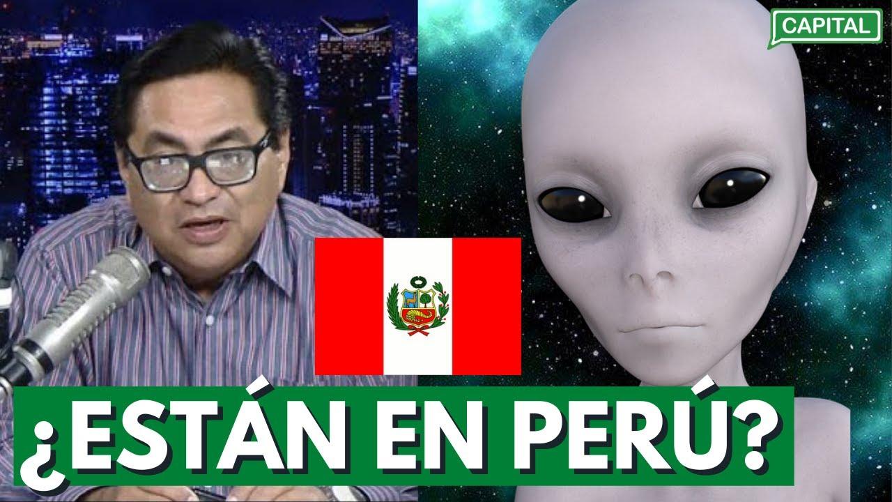 """Anthony Choy: """"Aquí en Perú hay extraterrestres camuflados entre nosotros"""""""