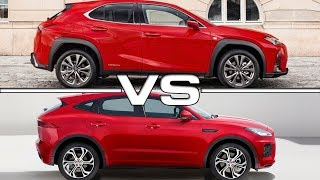 2019 Lexus UX vs 2018 Jaguar E-Pace
