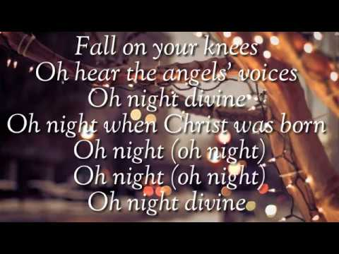 oh holy night by aaron neville christmas song lyrics