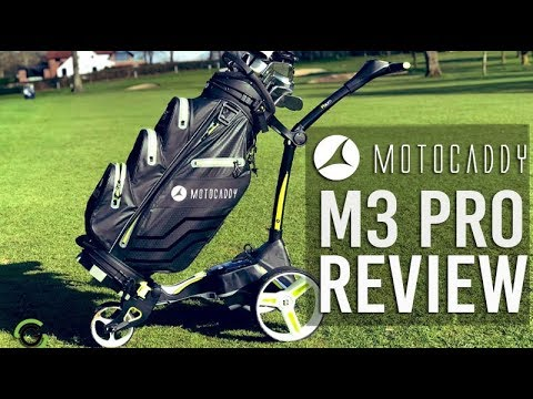 MOTOCADDY M3 PRO ELECTRIC TROLLEY REVIEW