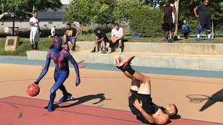 Spider-Man 2099 1v1 Clippers Practice Facility