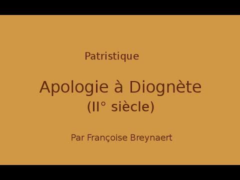 Patristique. L'épitre à Diognete (II° siècle)