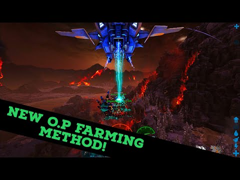 NEW INSANE SKIFF/MAGMASAUR FARMING METHOD TUTORIAL!! METAL, OBSIDIAN, AND EVERYTHING... O MY