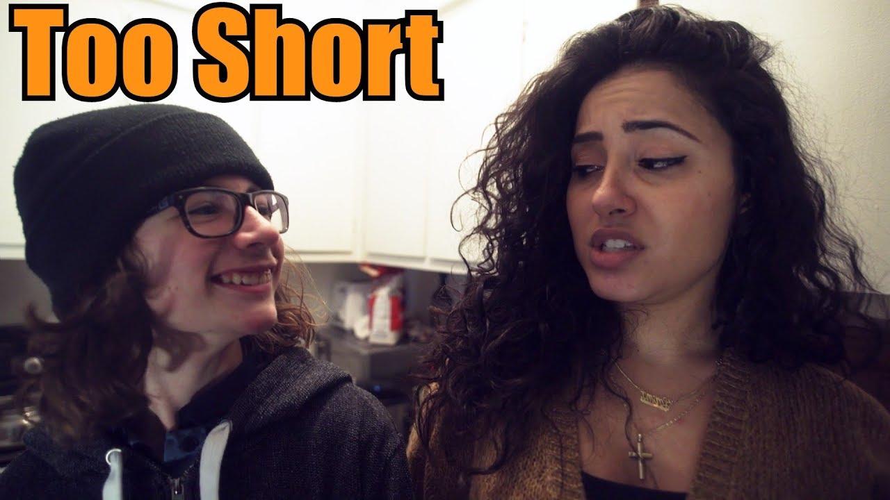 Dating short man heels