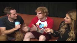 Ed Sheeran sit down interview with Kramer and Geena