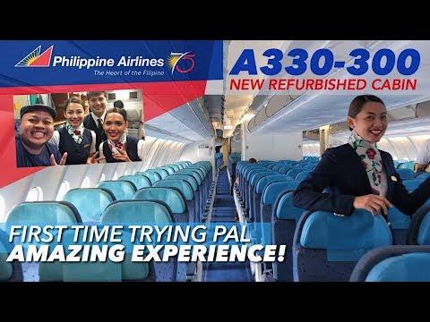 PHILIPPINE AIRLINES PR731 Bangkok to Manila on A330-343 + Cockpit Visit VLOG