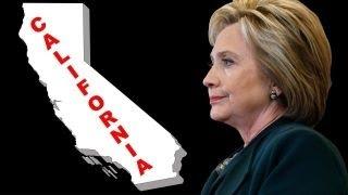 Hillary Clinton in danger of losing California?
