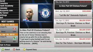 FIFA 12 - Tryb kariery