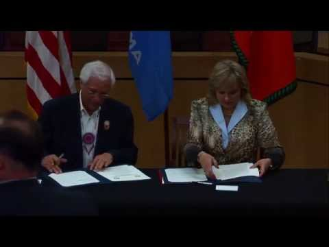 Cherokee Nation and state of Oklahoma sign expanded hunting and fishing rights compact