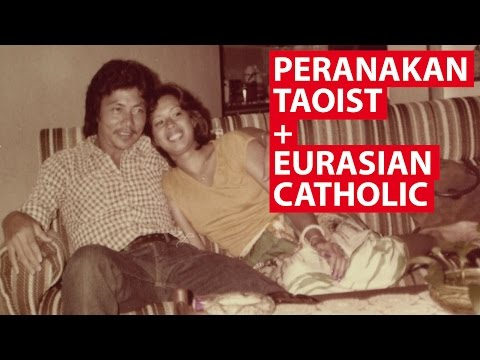 Peranakan Taoist + Eurasian Catholic | On The Red Dot | CNA Insider