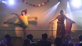 【和ダンス】ふうかまりを&うぽる「虹を超えて」
