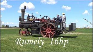 1914 Rumely 16hp Steam Run