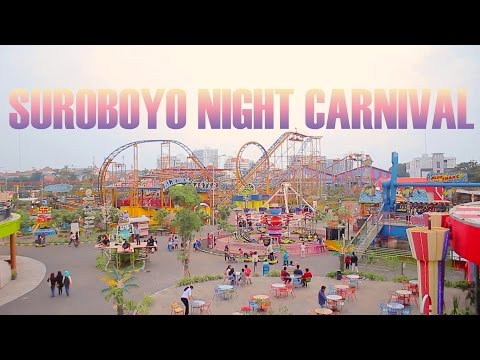 FUN SEEKER | Suroboyo Night Carnival Market | Surabaya's 1st Theme Park