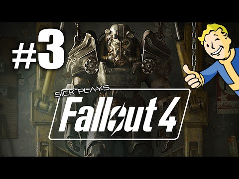Fallout 4 [Part 3] The First Step - Kill the raiders in Corvega Assembly Plant