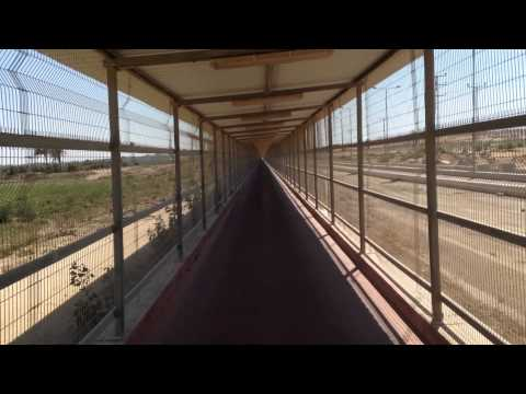 Erez Roadtrip: Crossing from Israel into Gaza — Raw Video