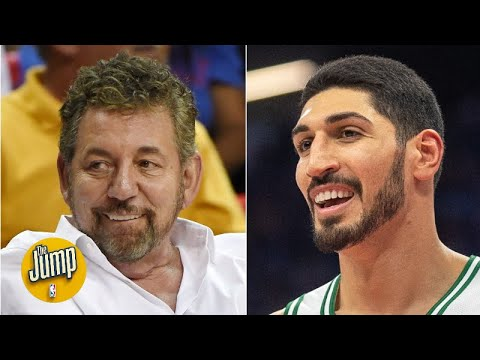 Stop blaming James Dolan all the time for the Knicks' problems - Enes Kanter | The Jump