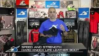 Speed and Strength Hard Knock Life Boot from Motorcycle-Superstore.com